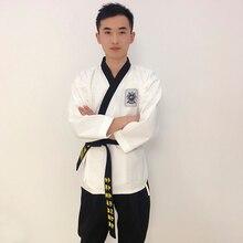 Wholesale Price Taekwondo Uniform for Performance Blue, Red,