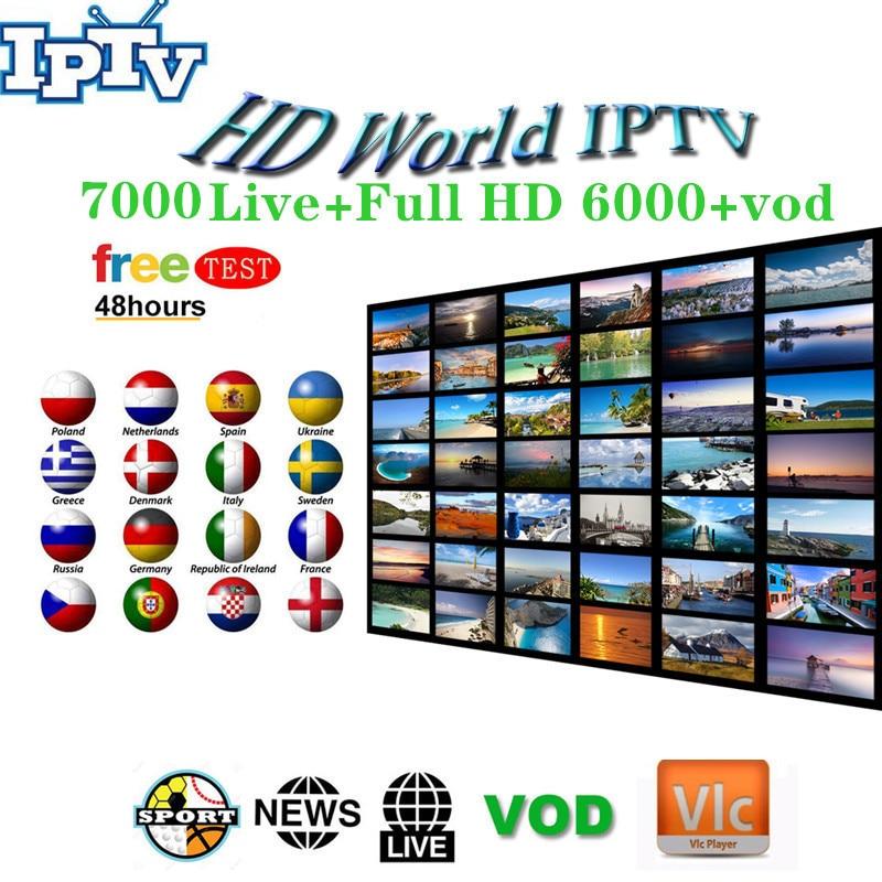 7000+World Pro Israel HD Jewish IPTV Subscription For Android Smart TV Nordic Scandinavian Hebrew Spain Dutch France Usa Uk M3U