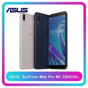 Image 1 - Global Version ASUS ZenFone Max Pro M1 ZB602KL 4/6GB RAM 64/128GB ROM SnapDragon 636 android 8.1 OTA Update 4G LTEสมาร์ทโฟน