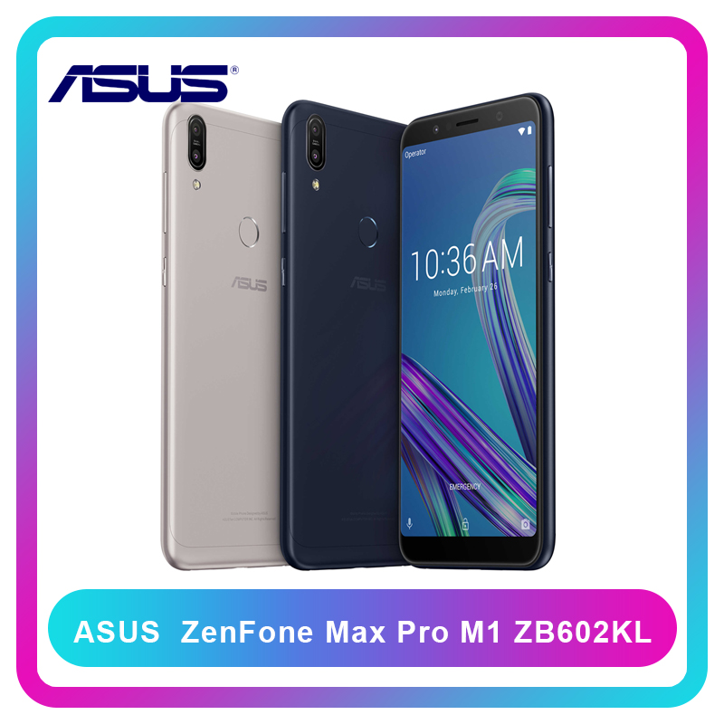 Versión Global ASUS ZenFone Max Pro M1 ZB602KL 4/6GB RAM 64/128GB ROM SnapDragon 636 Android 8,1 Actualización de OTA 4G LTE Smartphone Versión Global Lenovo K5 Pro 64GB Snapdragon 636 Octa Core Smartphone Quad cámaras 5,99 pulgadas 4G LTE teléfonos móviles 4050mAh