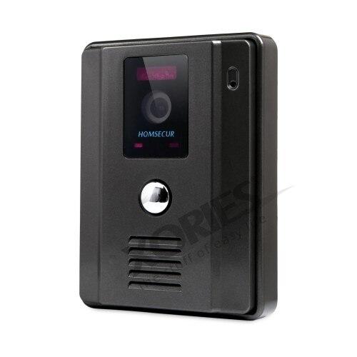 EU Consegna HOMSECUR 8 Ha Fissato il Video & Audio Intelligente Campanello Snapshot + Un Pulsante di Sblocco 1C1M TC011 B/TC011 W + TM801R B - 4