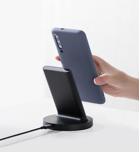 Image 5 - Original Xiaomi Vertical Wireless Charger 20W Stand Horizontal For Mi 9 (20W) MIX 2S / 3 / S10 (10W) Qi Compatible Multiple Safe