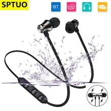 Bluetooth наушники стерео бас Беспроводной с шейным магнит гарнитуры