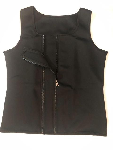 Mens Body Shaper nderbust Trainer Corset Shapewear Double Zipper Neoprene Vest Sweat Slimming Corset Waist Cinechers Girdle Belt 5