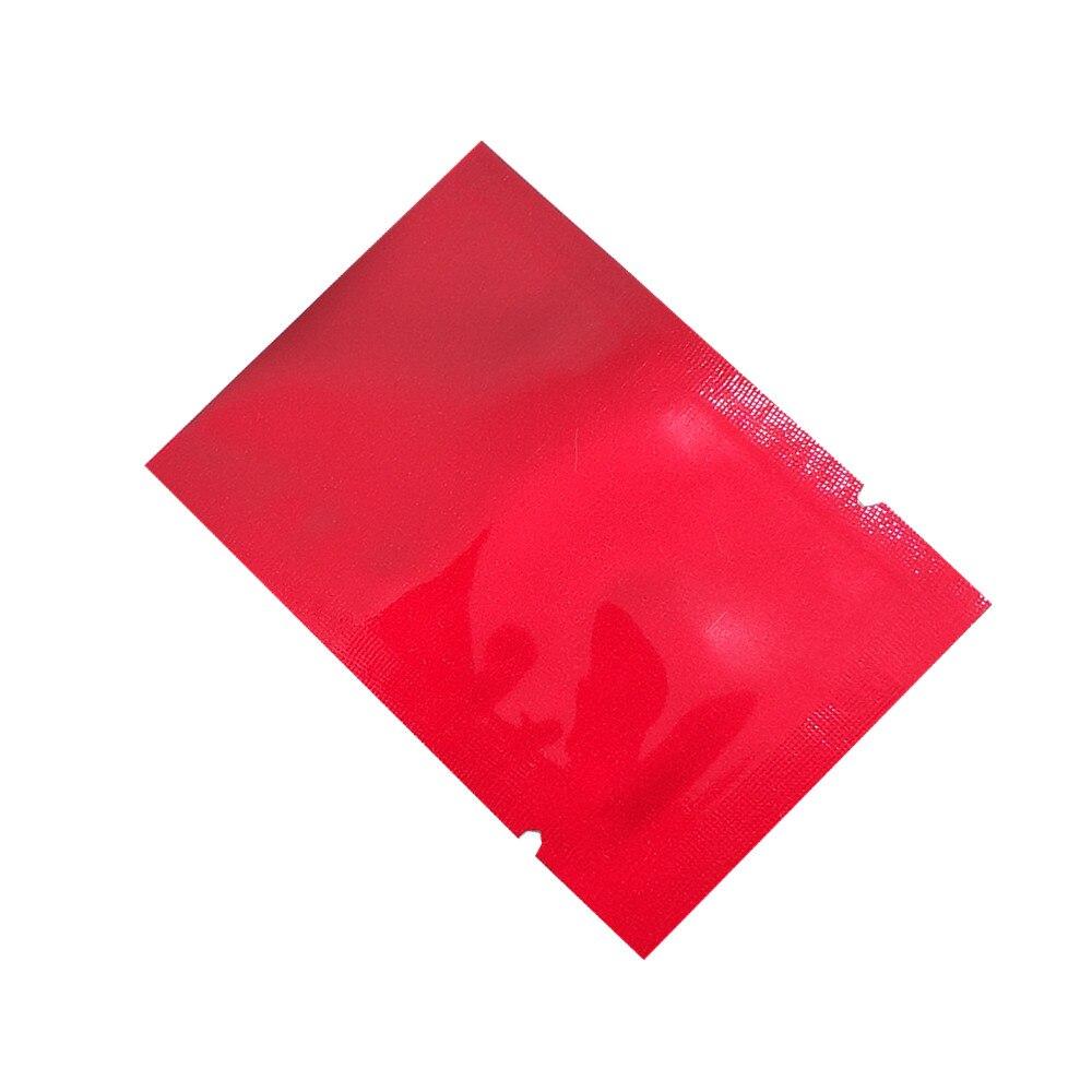 En gros haut ouvert thermoscellage sacs sous vide pur Mylar feuille emballage sacs alimentaire stockage poche faveur de mariage 2000 pièces 5x7cm 7 couleurs - 5