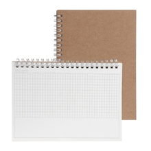 Planner Book Monthly Weekly Daily Agenda Schedule Blank Diary DIY Study Notebook X6HB