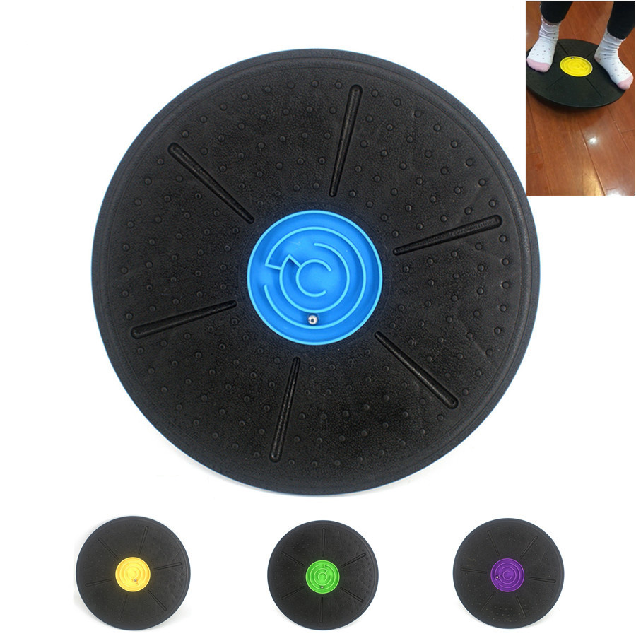 Balance Board Yoga Training Fitness Exercise Stability Disc Twist Board Wobble Balance Board Twisted Disk Fitness Equipment