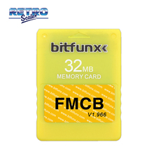 Memory-Card FMCB OPL Boot Game-Console PS2 V1.966 Retroscaler for with 32MB