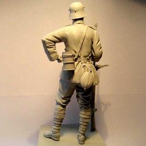 Image 3 - Figuras de resina 1:16 de 120MM, kit de soldados, máquina Gunner WW2 sin pintar y sin montar