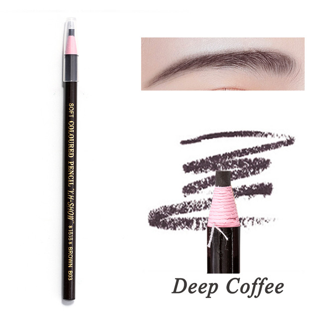 5 Colors 2019 Eyebrow Pencil Waterproof Microblading Pen Long-lasting Eyebrow Enhancer Easy Wear Eye Brow Tint dye Makeup Tools 4