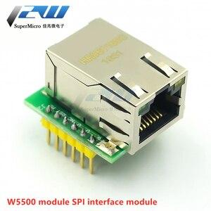 USR-ES1 W5500 MCU Ethernet сетевой модуль для Arduino TCP / IP конвертер 51 / STM32 SPI интерфейс 3, 3 В 5 в i / o WIZ820io