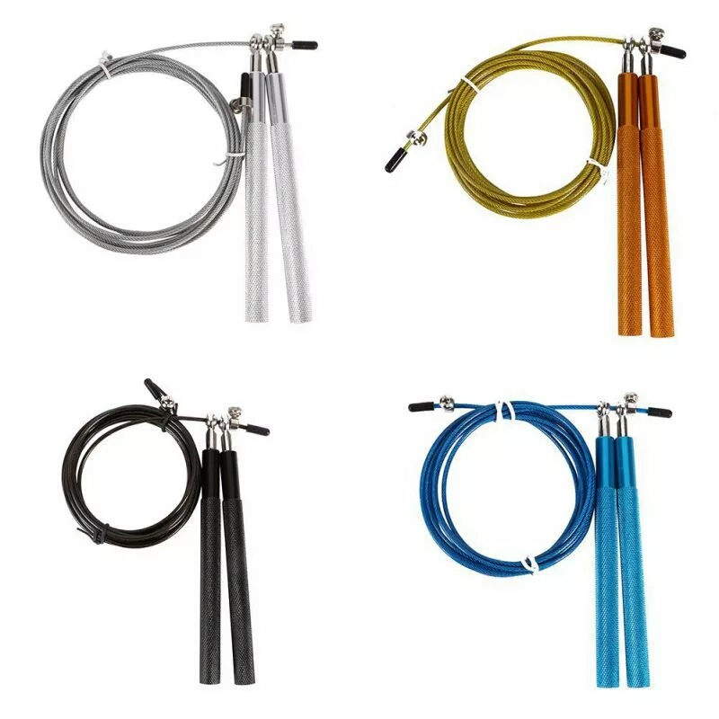 Manufacturers Direct Selling Metal Aluminium Alloy Jump Rope Steel Wire Jump Rope   Profession Competing Fitness Jump Rope Sport