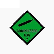 Креативные автомобильные стикеры сжатого газа стайлинга автомобилей