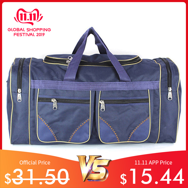 Unisex Nylon Travel Bags Men Waterproof Gym Bags Women Training Shoulder Bags Duffle Outerdoor Handbags Sack Sac De XA130K