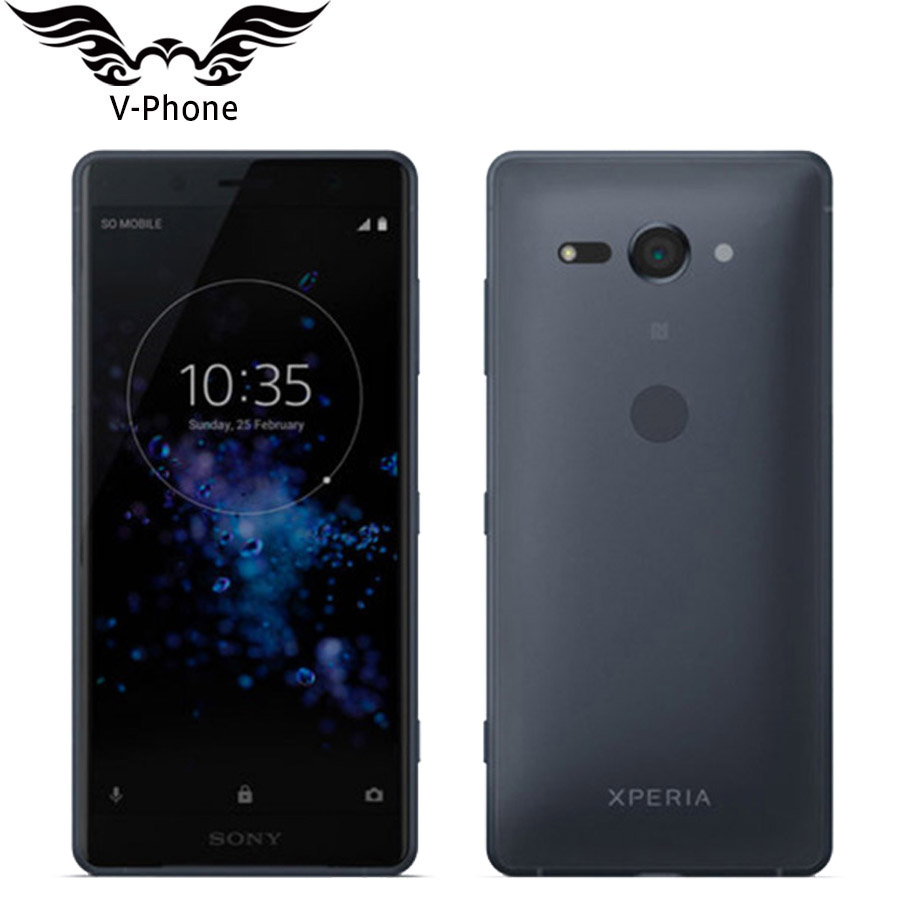 Brand New Original Dual SIM Sony Xperia XZ2 Compact H8324 4GB 64GB Mobile Phone 5