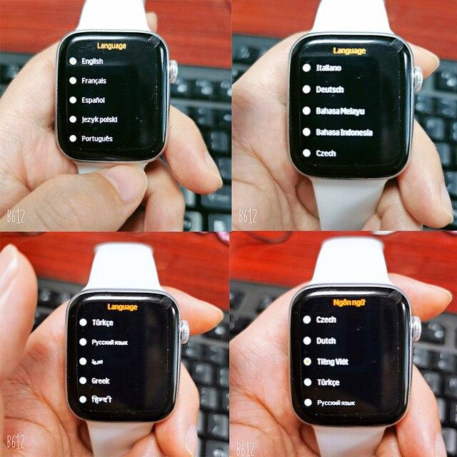 2021 original iwo w26 relógio inteligente homem/mulher freqüência cardíaca/monitor de pressão arterial relógio bluetooth chamada smartwatch para android ios 6