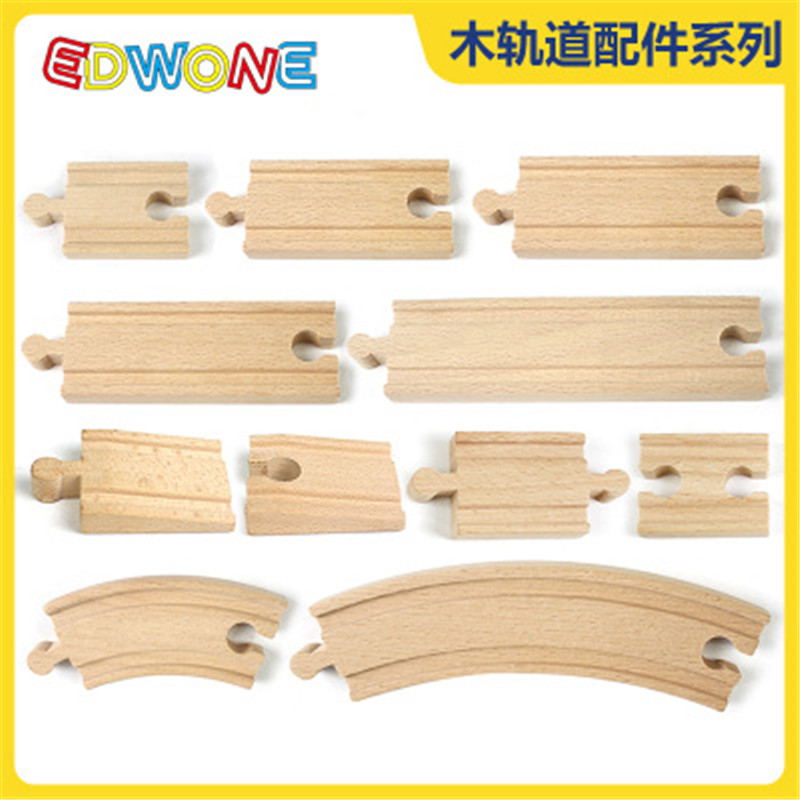 New Thomas Wooden Train Magnetic Wooden Track Parts Beech Wooden Train Track Thomas And Friends Wooden Toy Accessory Track