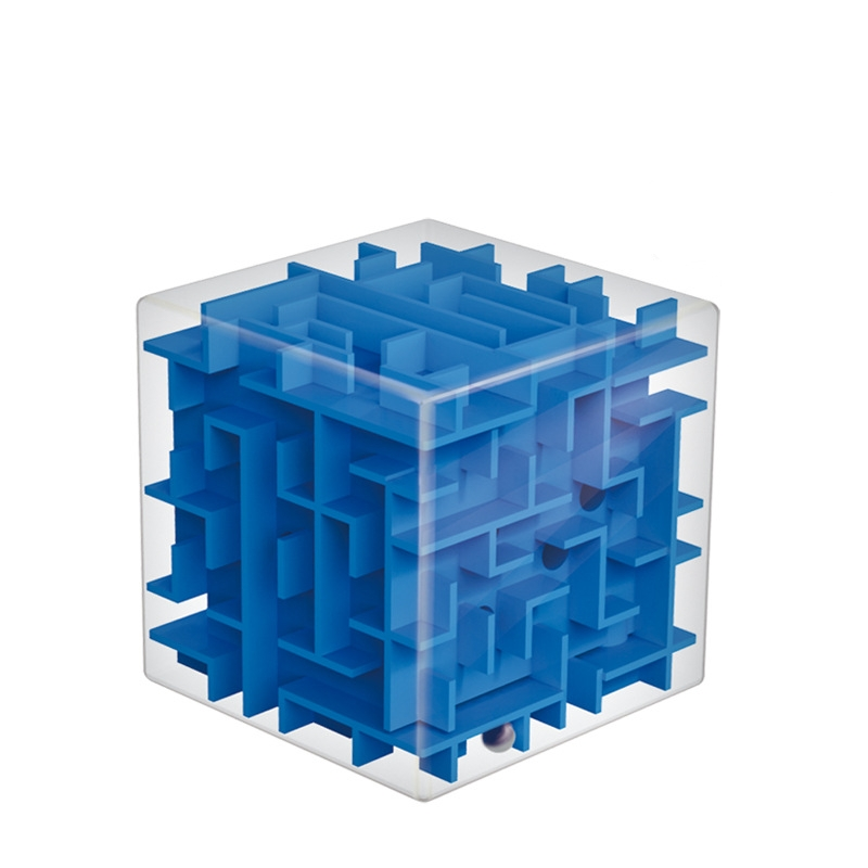 3D Mini Speed Cube Maze Magic Cube Puzzle Game  Stress Relief Toys For Adults Game Educational Toy Competition Toys Gift