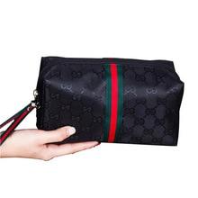 Сетчатая красная горячая Распродажа, двойная косметичка для переноски, большая вместительность, Женская Портативная сумка для хранения, корейский стиль, сумка для стирки, для студентов