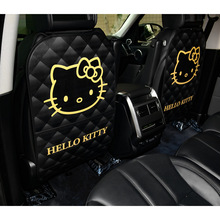 Cartoon Anti Kind Kick Pad Voor Auto Waterdichte Seat Protector Back Cover Universal Auto Anti Modder Vuil Pads met Opbergtas