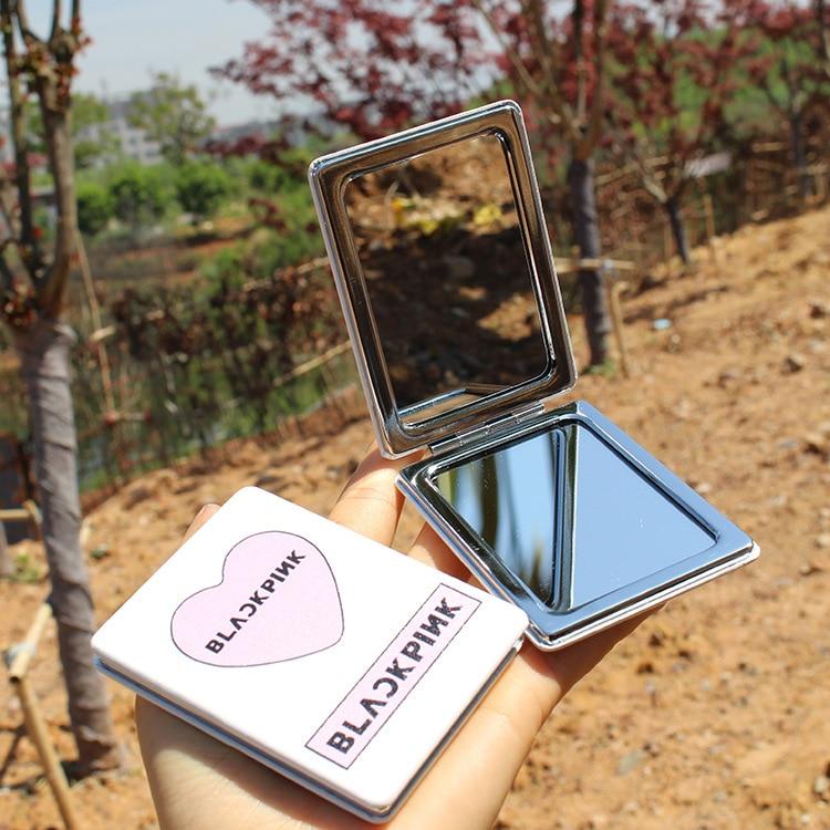 Wanna ONE Twice GOT7 blackpink BTS bulletproof для мальчиков Летнее мини-зеркало