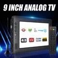 9 Inch Tragbare Mini TV DVB-T/T2 DTV FM HD 1080P H.265 Digital Und Analog Led Fernseher Unterstützung MP4 AC3 HDMI Monitor
