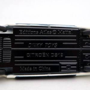 Image 5 - אטלס 1/43 Dinky צעצועי 501 סיטרואן DS 19 משטרת מודלים Diecast אוסף אוטומטי רכב מתנה מיניאטורי