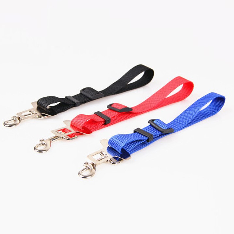 Pet Supplies Car Mounted Safety Buckle Safety Belt Travel Car Fixing Band Dog Car Supplies