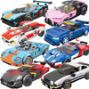 City Car Vehicle Speed Champion Racer Building Blocks Brick Racing Super Car Moc Creative Model Garage Set Educational Toys 2021