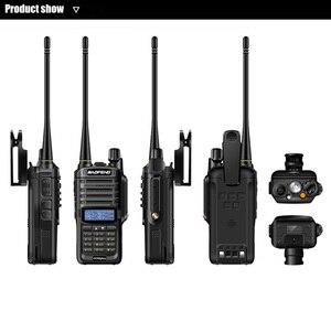Image 5 - 2pcs wakie talkie IP67 Dustproof Waterproof CB Radio Communicator baofeng uv 9r plus for hf  2 way ham radio kit police scanner