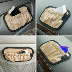 Image 1 - Portátil banco de carro lado volta saco armazenamento auto dashboard telefone organizador automóveis porta detritos bolso veículo estiva suprimentos