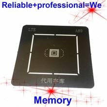EMMC UFS BGA153Ball BGA169Ball Stencil Reballing IC Spilli Saldatura BGA Diretta Riscaldamento Template