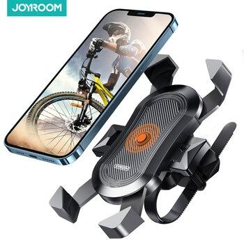 Держатель телефона для велосипеда с защитой от тряски, устойчивое крепление для телефона на велосипед и мотоцикл, крепление на руль горного велосипеда, поддержка устройств, 4-6,8 дюймовый смартфон 1