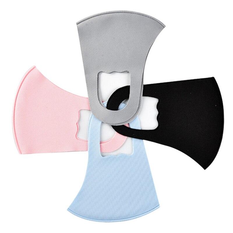 10pcs Rosto Máscara Preta Máscara Boca Máscara Reutilizável Lavável Mascarillas Protetor Facial Masque Máscara Facial 3
