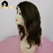 Wig Body-Wave Brazilian Human-Hair 2-Hair-Wigs Lace Base Silk Closure Hair-Color Remy