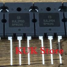цена на Real Original 100% NEW  MJL21193  MJL21194  MJL21193G  MJL21194G  TO-264  5Pair = MJL21193 5PCS + MJL21194 5PCS