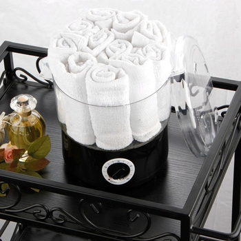 Steam Towel Heating Pot Steaming Treatment Package Beauty Salon with Steaming Pot Small Heating Pot US Plug