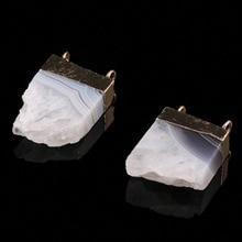 цены на Wholesale 2019Hot Sale Charms Pendants for Jewelry Making Crystal Natural Stone Pendant for  DIY Necklace Bracelets Size 20x25mm  в интернет-магазинах