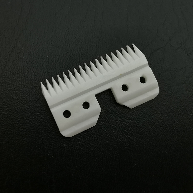 10 pcs/lot 18 teeth hair clipper blade ceramic cutters