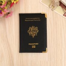 Travel Passport Cover Card Case Women Men Travel Credit Card Holder Travel ID Document Passport Holder Bag hiram beron leather passport cover for men travel document holder custom name service passport bag initial label
