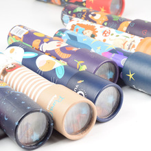 Scalable Rotation Kaleidoscope Magic Changeful Adjustable Fancy Colored World Toys For Children Autism Kids Puzzle Toy