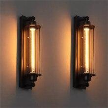 الصناعية خمر مصباح الرجعية الجدار ضوء الشمعدان لوفت شرفة الشرفة ضوء 20 قطعة/الوحدة