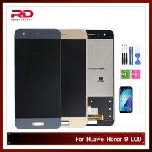 LCD Huawei onur 9 ekran dokunmatik ekran digitizer STF AL00 STF L09 STF AL10 STF TL10 çerçeve ile LCD ekran
