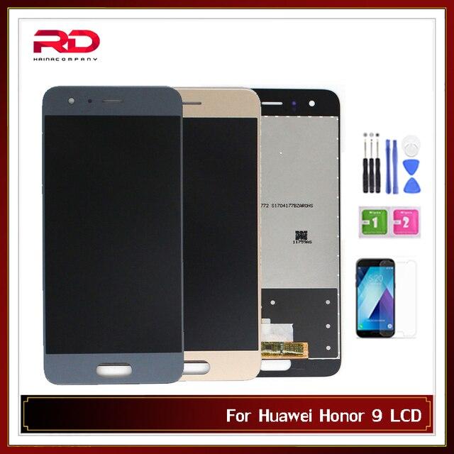 LCD Pour Huawei Honor 9 Affichage Écran Tactile Numériseur STF AL00 STF L09 STF AL10 STF TL10 ÉCRAN LCD avec cadre