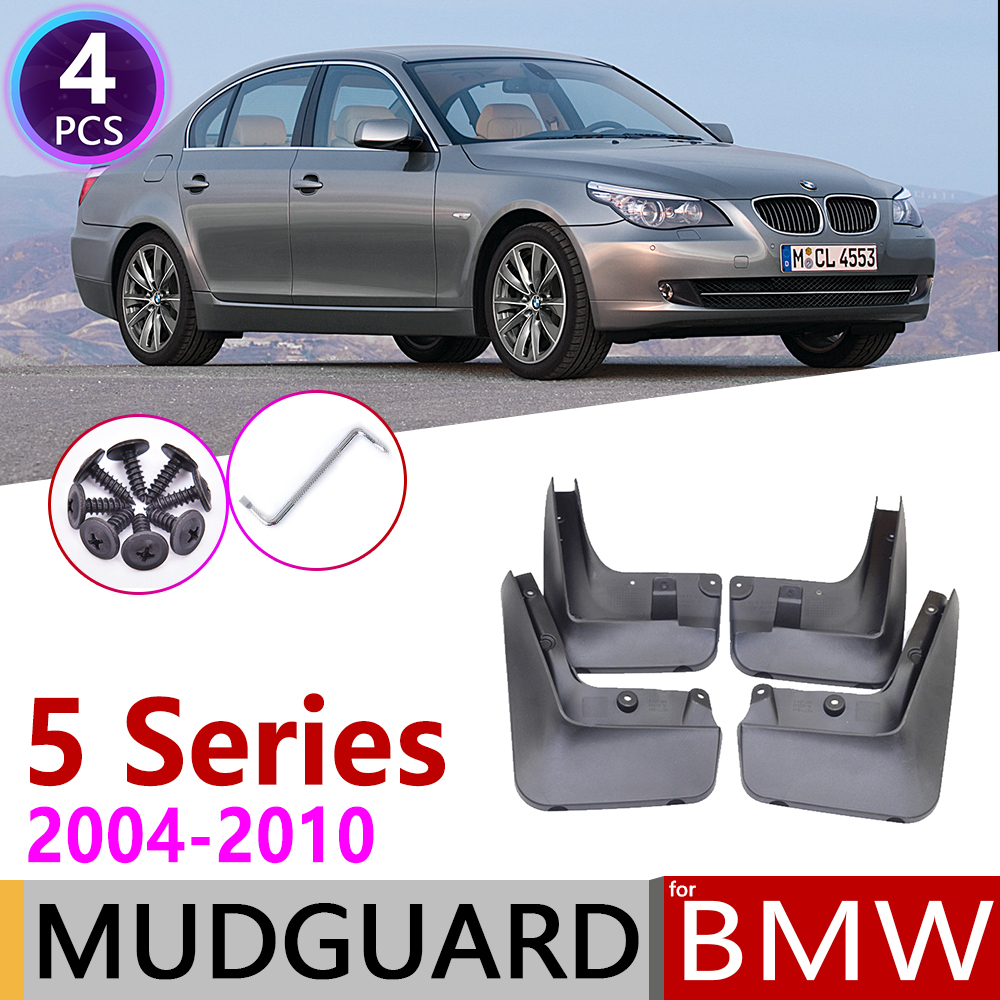 Брызговик автомобиля для BMW 5 серии E60 2004 ~ 2010 крыло брызговик щиток брызговиков аксессуары для брызговиков 2005 2006 2007 2008 2009