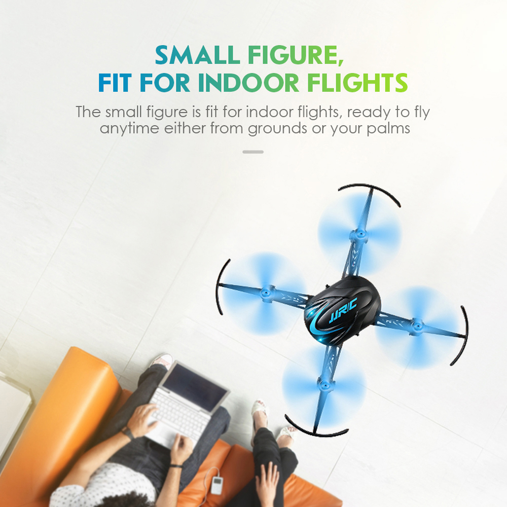 New Mini Drone Extra Battery Best Indoor 6 Axis Micro RC Quadcopter Control Dual-charge Mode RC HelicopterDron Toy For Kids H48
