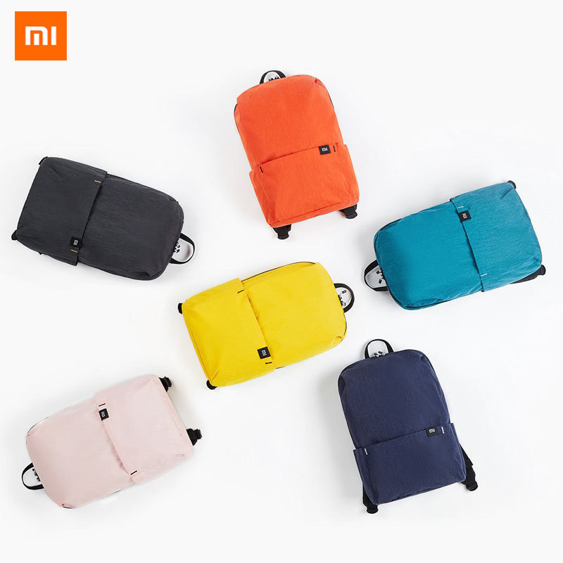 Newest Xiaomi Mi 10L 20L Backpack Colorful Leisure Sports Chest Bag Unisex Travel Camping Bag