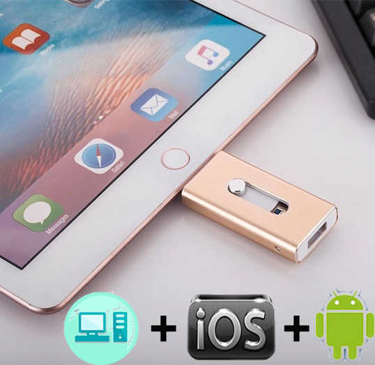 OTG USB Flash sürücü 8G 16G 32G 64G 128G iPhone X/8/7 artı/7/6s artı/6s/5/5s/SE ve ipad iFlash sürücü memory Stick Pendrive 3.0