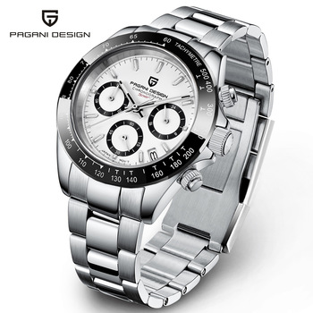 2021 New PAGANI Design Top Brand Men's Sports Quartz Watches Sapphire Stainless Steel Waterproof Chronograph Luxury Reloj Hombre 1