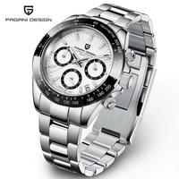 2021 nuovi orologi al quarzo sportivi da uomo di marca PAGANI Design cronografo impermeabile in acciaio inossidabile zaffiro Reloj Hombre di lusso
